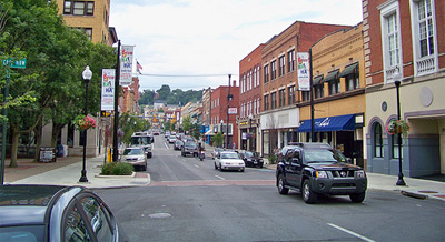 Downtown Morgantown, WV
